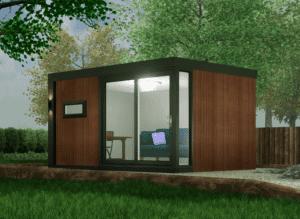 the garden office